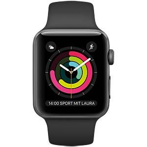 Smartwatch, Apple Watch, 42mm, grau/schwarz APPLE MP032ZD/A