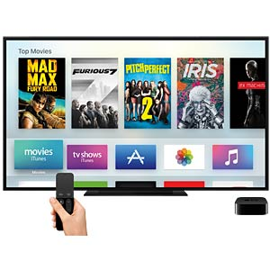 Apple TV (4.Gen.), 64GB - Works with Apple HomeKit APPLE MLNC2FD/A