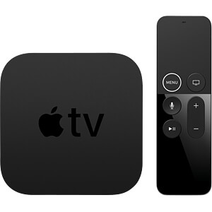 Apple TV 4K, 64GB - Works with Apple HomeKit APPLE MP7P2FD/A