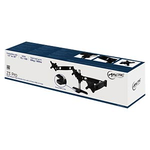 Monitor Halter, 3 Displays, Tischmontage, bis 30 kg, 30 ARCTIC ORAEQ-MA013EU-GBA01