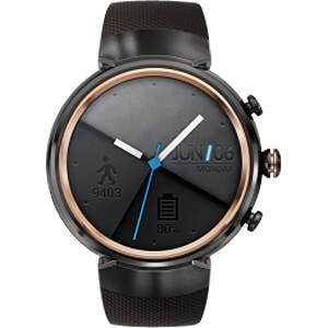 ZenWatch 3, grey, Silikon bracelet brown ASUS 90NZ0062-M00020