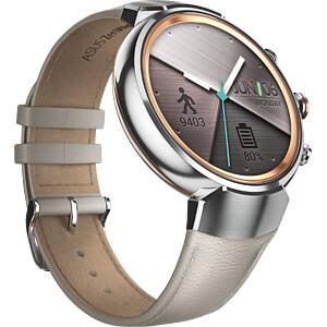 Smartwatch, ZenWatch 3, silber, Lederarmband beige ASUS 90NZ0063-M00030