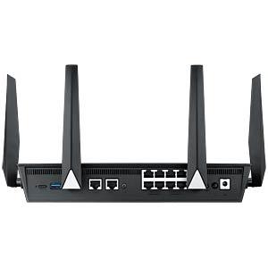 WLAN Router 2.4/5 GHz VPN 2600 MBit/s ASUS BRT-AC828