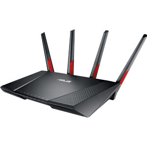 WLAN Router 2.4/5 GHz LTE 2300 MBit/s ASUS 90IG04L0-BM3G10