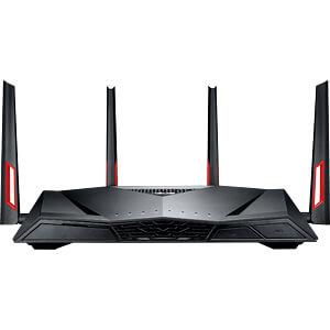 WLAN Router 2.4/5 GHz ADSL/VDSL 3100 MBit/s ASUS 90IG02W1-BN3G10