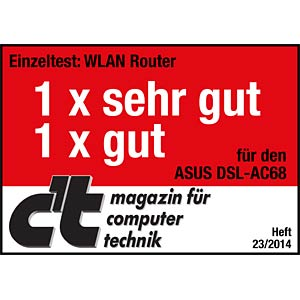 AC1900 ADSL/VDSL WLAN router ASUS 90IG00V1-BM3G00