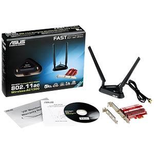 WLAN-Adapter, PCIex, 1267 MBit/s ASUS 90IG00K0-BM0000