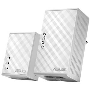 500 MBit/s Powerline - WLAN 300 MBit/s Kit ASUS 90IG01V0-BO2100