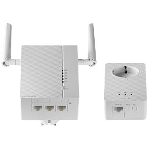 Powerline-Extender Kit, WLAN (2 Geräte) ASUS 90IG0260-BO3100