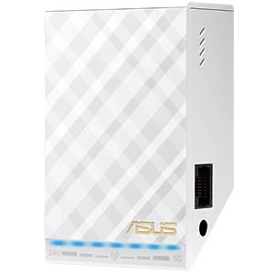 RP-AC52 AC750 White Diamond WLAN repeater ASUS 90IG00T0-BM0N00