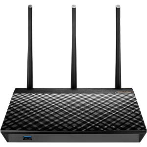 AC1750 Dual-Band Gigabit Router black ASUS 90IG0300-BM3000