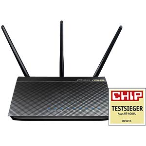 N900 dual-band Gigabit router, black ASUS 90-IG1Z002M02-3PA0-