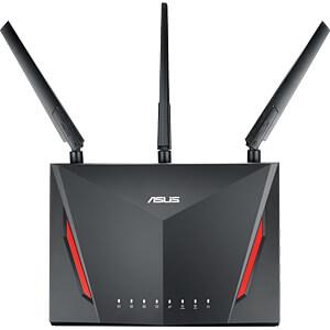 WLAN Router 2.4/5 GHz 2900 MBit/s ASUS 90IG0401-BM3000