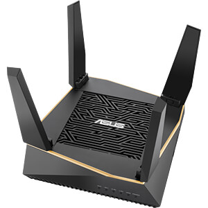 WLAN Router 2.4/5 GHz 6100 MBit/s ASUS 90IG04P0-MO3010