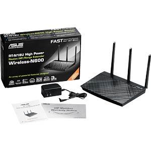 WLAN Router 2.4 GHz 600 MBit/s ASUS 90IG00L0-BM3G20
