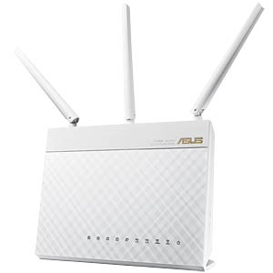 AC1900 dual-band Gigabit router, white ASUS 90IG00C1-BM3000
