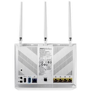 AC1900 Dual-Band Gigabit Router white ASUS 90IG00C1-BM3000