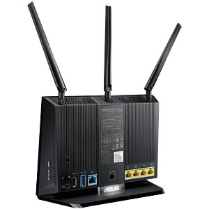 AC1900 Dual-Band Gigabit Router black ASUS 90IG00C0-BM3000