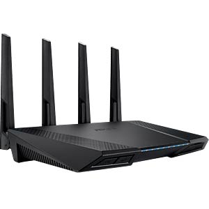 WLAN Router 2.4/5 GHz 2400 MBit/s ASUS 90IG00W0-BM3G20