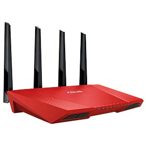 WLAN Router 2.4/5 GHz 2400 MBit/s ASUS 90IG00WR-BM3G00