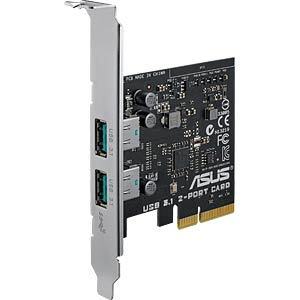USB-Controller 3.1, 2-Port Typ-A, PCI-Expr. Karte ASUS 90MC0360-M0EAY0