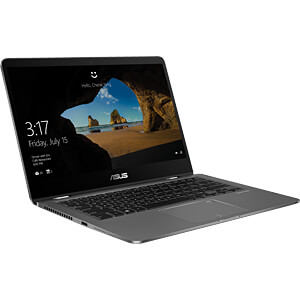 Laptop, ZENBOOK FLIP 14, Windows 10 Pro ASUS 90NB0K21-M01080