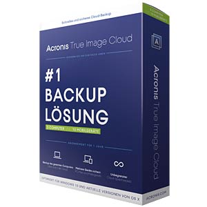 Backup solution for PC and Mac, 10 Devices ACRONIS THJWB2DES