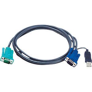 ATEN 2L-5302U - KVM Kabel VGA