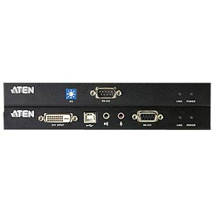 Extension CAT> DVI/USB/sound/RS-232 (60 m) ATEN CE600
