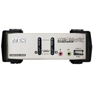 KVM Switch 2-Port USB/VGA - USB-Hub ATEN CS1732B