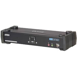 2 Port KVM USB/DVI Dual-Link/Audio ATEN CS1782A