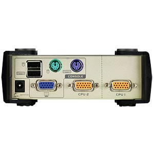 2-Port USB VGA KVM Switch ATEN CS82U