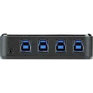 4-port USB 3.0 Peripheral Sharing Device ATEN US434-AT