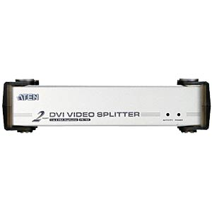 2-Port DVI Video Splitter, Audio ATEN VS162