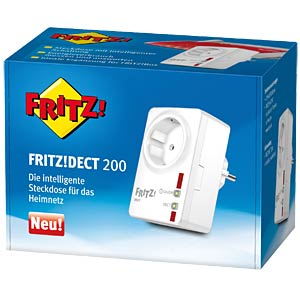 AVM FRITZ!DECT 200 switchable outlet AVM 20002572