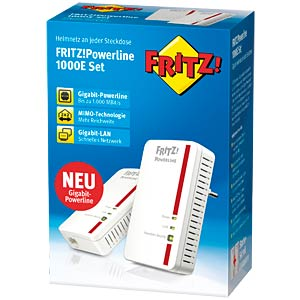 FRITZ!Powerline 1000E set AVM 20002688
