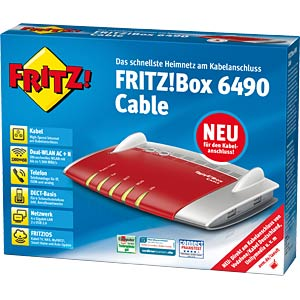 AVM FRITZ!Box 6490 with cable modem AVM 20002778