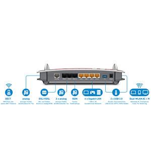 FRITZ!Box 7490 VDSL-/ADSL-Modem AVM 20002584