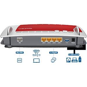 AVM FRITZ!Box 3490 mit VDSL/DSL-Modem AVM 20002680