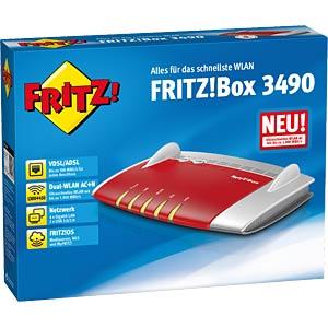 FRITZ!Box 3490 mit VDSL/DSL-Modem AVM 20002680