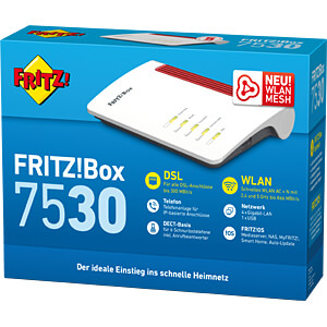 FRITZ!Box 7530 with VDSL/ADSL2+ - Modem AVM 20002839