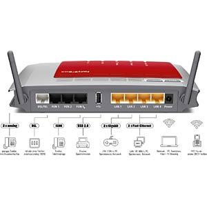 AVM FRITZ!Box 7272 W-Router - ADSL2+-Modem AVM 20002607