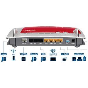 AVM FRITZ!Box 7490 VDSL-/ADSL-Modem AVM 20002584