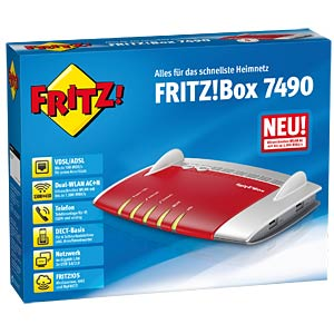 AVM FRITZ!Box 7490 with VDSL/ADSL2+ modem AVM 20002584