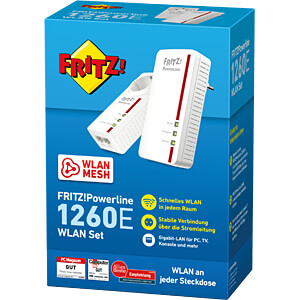 FRITZ!Powerline 1260E WLAN Set AVM 20002795