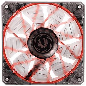 BitFenix Spectre PRO Gehäuselüfter, 120 mm, LED rot, black BITFENIX BFF-LPRO-12025R-RP