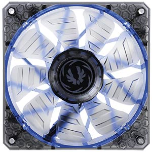 BitFenix Spectre PRO Gehäuselüfter, 120 mm, LED blau, black BITFENIX BFF-LPRO-12025B-RP