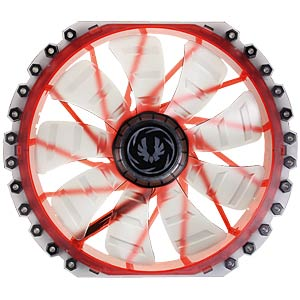 BitFenix Spectre PRO 230 mm red LED — black BITFENIX BFF-LPRO-23030R-RP