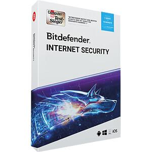 Software, Internet Security 2019, 1 Gerät BITDEFENDER 20-04746