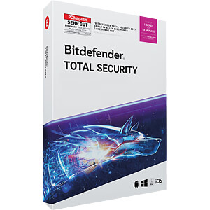 Software, Total Security 2019, 1 Gerät BITDEFENDER 20-04739